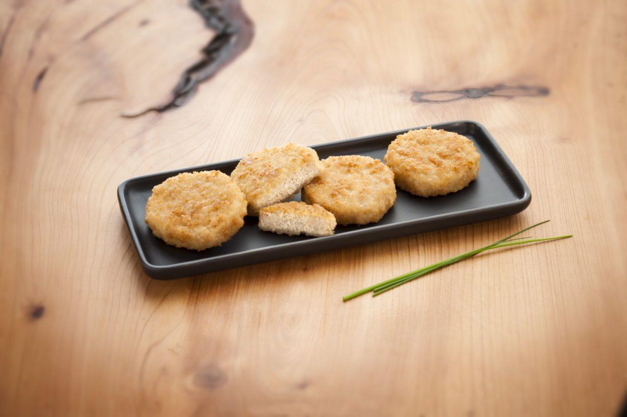 Poulet végétal et vegan sous forme de nuggets et émincés